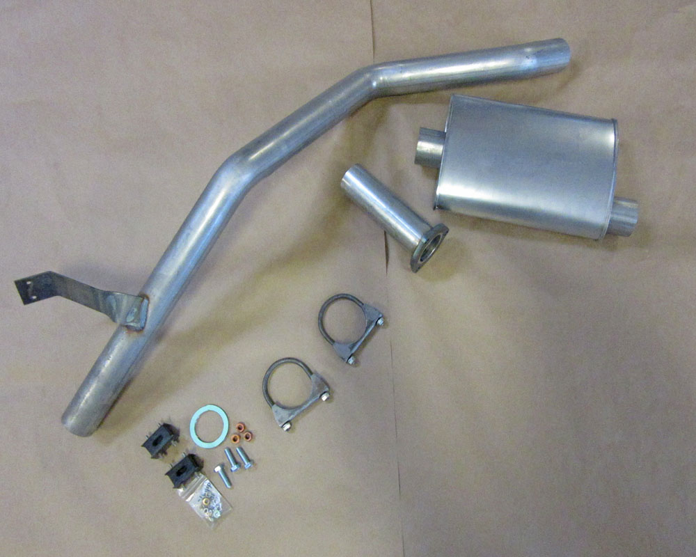 fj60 exhaust system catalytic converter back 1980 1981 1982 1983