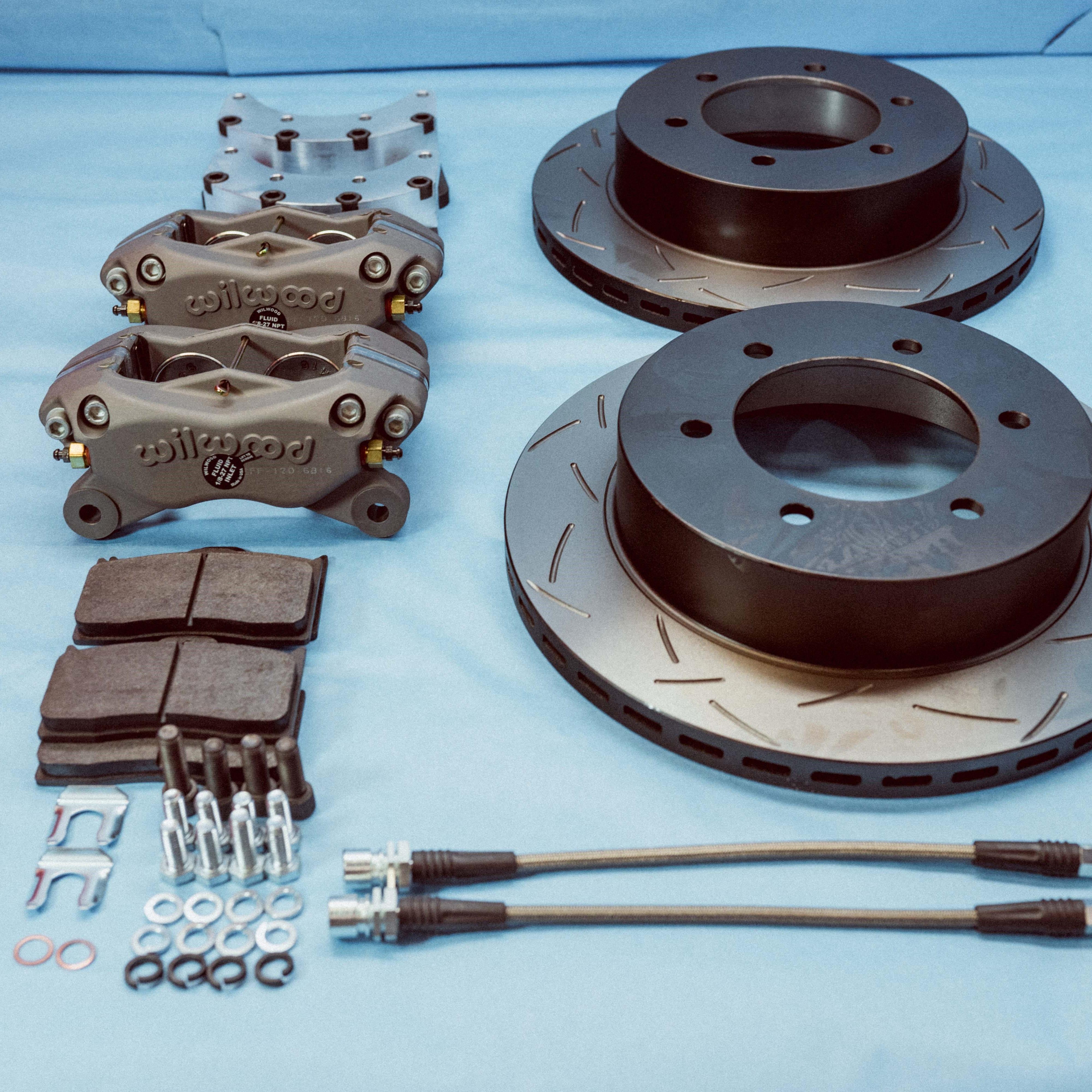 FJ40 FJ55 Disc Brake Conversion Kit Front 1970, 1971, 1972, 1973, 1974,  1975 SKU: 43512-FT40KIT-N