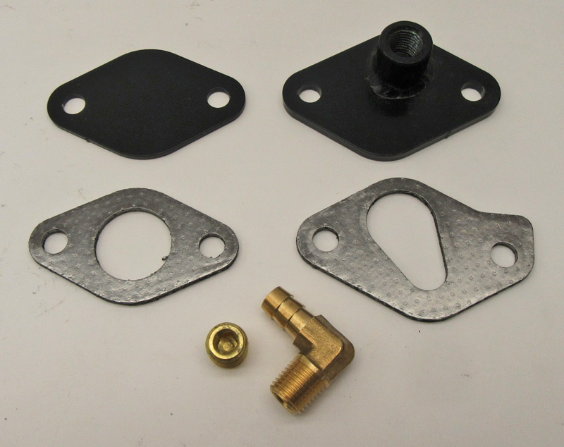 FJ40 FJ60 EGR Block Off Plate Kit 2F Engines 1980, 1981, 1982, 1983, 1984,  1985, 1986, 1987 SKU: 25601-EGRKIT