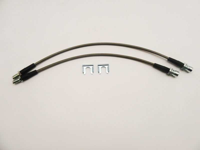 FJ80 Brake Lines Kit Stainless Steel without ABS, 2 Line Kit 1990, 1991,  1992