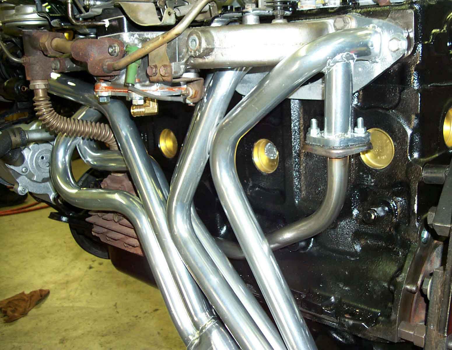 FJ40 FJ60 Headers Ceramic Coated Tuned F and 2F Engines Man A Fre 1968,  1969, 1970, 1971, 1972, 1973, 1974, 1975, 1976, 1977, 1978, 1979, 1980,  1981,