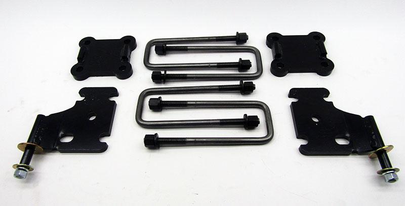 FJ60 FJ62 U Bolt Flip Kits Front Axle 4 Plus 1981, 1982, 1983, 1984, 1985,  1986, 1987, 1988, 1989, 1990